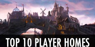 10 Best Skyrim Player homes