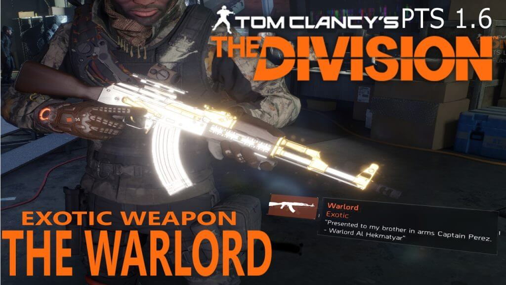 Division exotic weapons