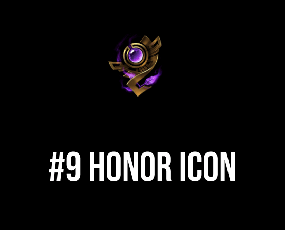 honor icon: #9 on top 10 rarest summoner icons