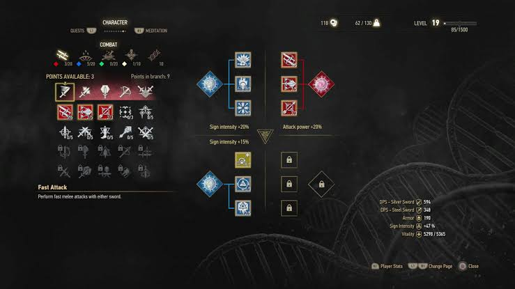 games with Skill trees