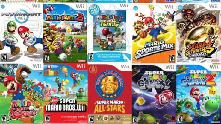 4 player Wii games