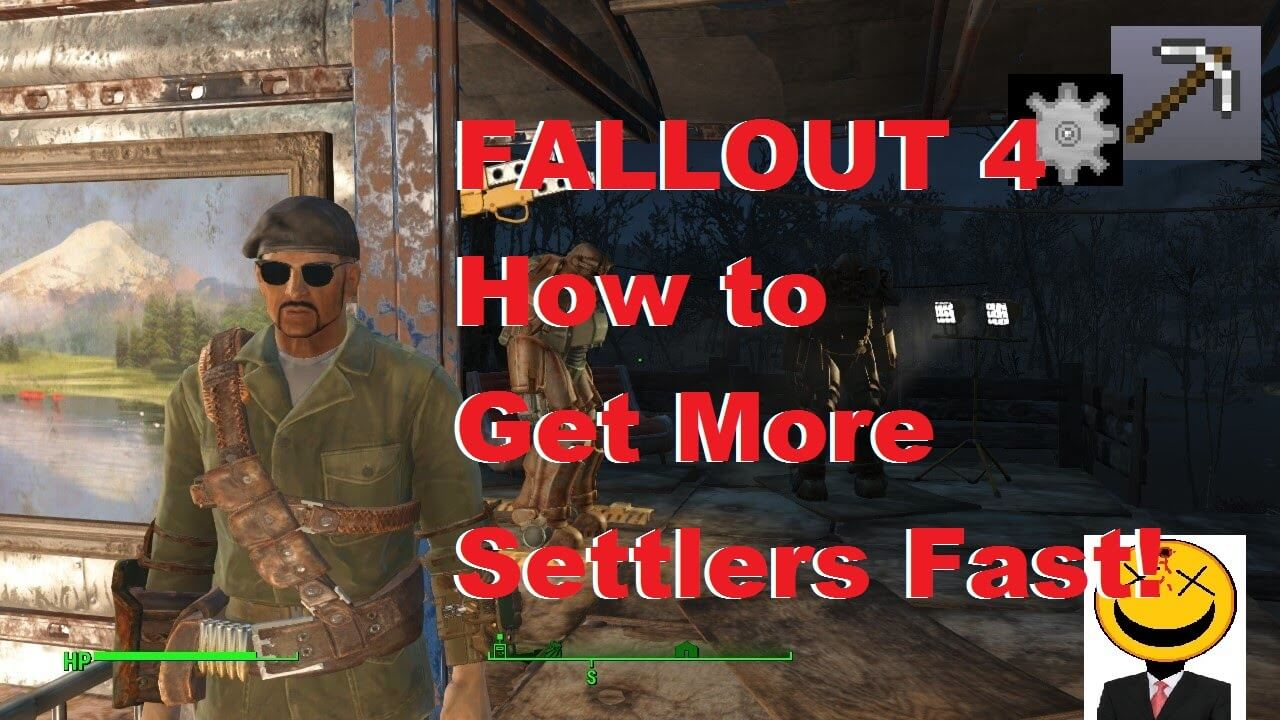 How to get more settlers fallout 4