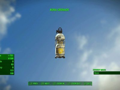 How to throw grenades in fallout 4