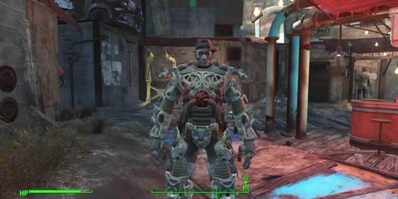 Fallout 4 how to get out of power armor